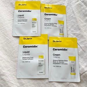 5/25✨dr.Jart ceramidin 2 Toner + 2 Shield Samples